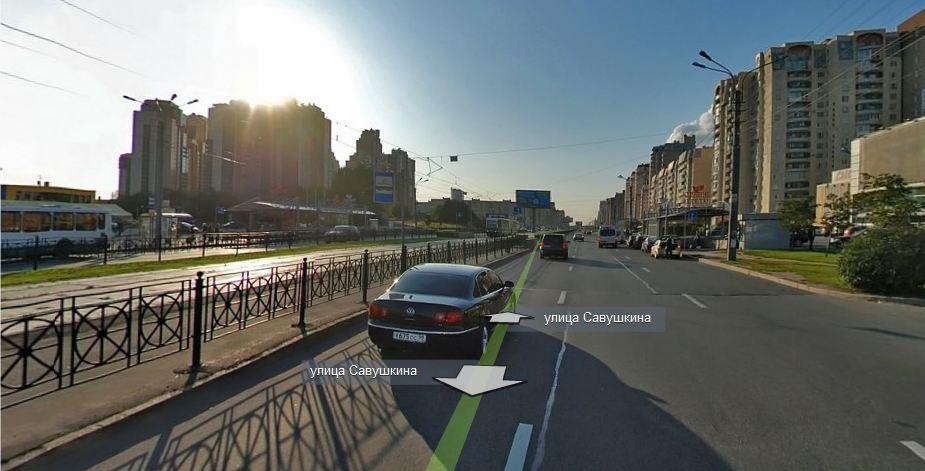 Санкт-Петербург, улица Савушкина