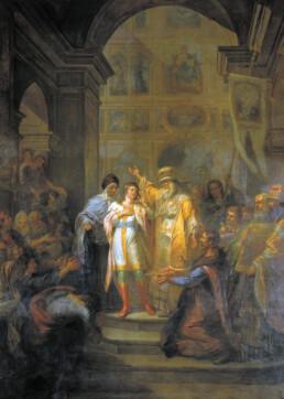 Призвание Михаила Федоровича Романова на царство