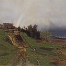 """А.К. Саврасов, """"Радуга"""", 1875 г."""