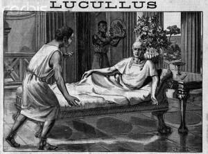 Лукулл. Рисунок из французского журнала начала 20 века.