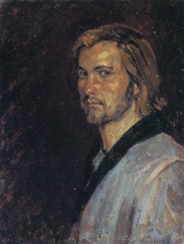 Борис Михайлович Ольшанский. Автопортрет.