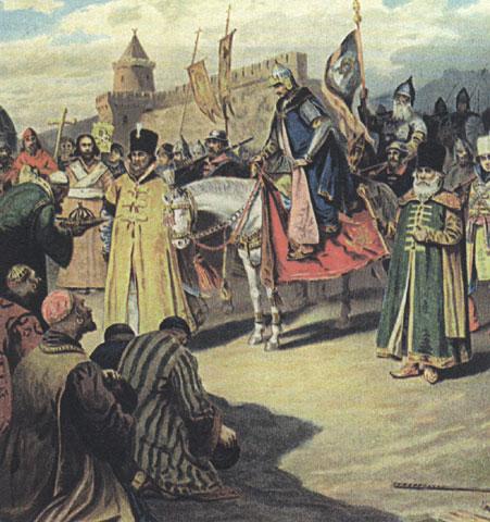Купить картину или постер царь дадон-военный