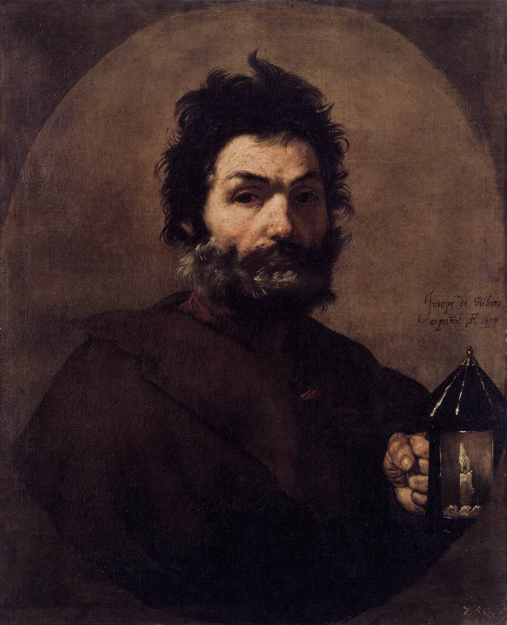 1615-1673. Сальваторе. Диоген с фонарём.