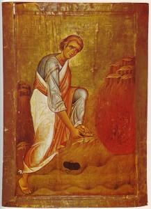 Моисей перед Неопалимой купиной