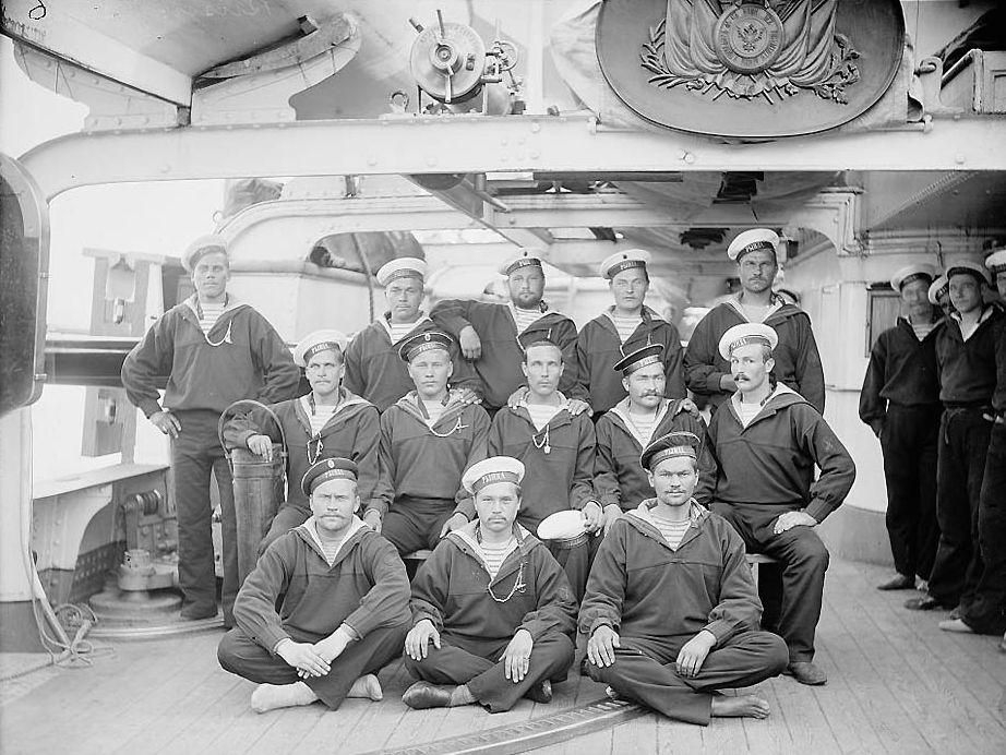 Русские моряки 19 века
